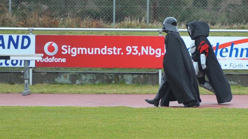 Motiv: Down Syndrom Marathon , am Sportgelaende TV Fuerth Couberinstrasse mit Star Wars Fan Club Nuernberg..Datum:190317..Foto: André De Geare..Veröffentlichung nur nach vorheriger Vereinbarung