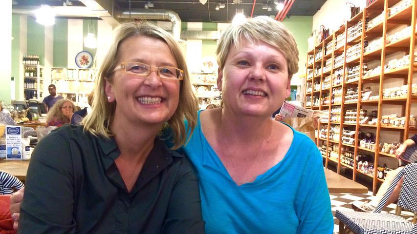 In Kapstadt besuchte sie die Brieffreundin einer Schwabacherin und trank mit ihr Kaffee.