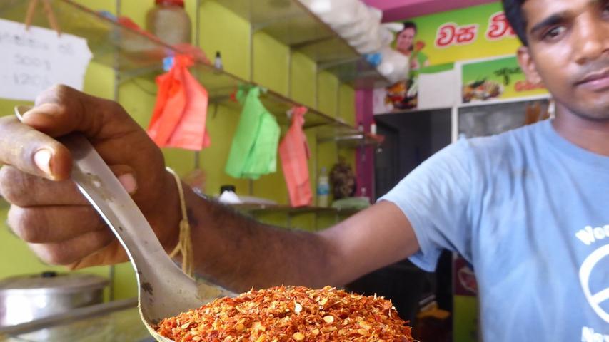 Auf Sri Lanka wurde Elke Zapf in die Geheimnisse der ayurvedischen Küche eingewiesen.