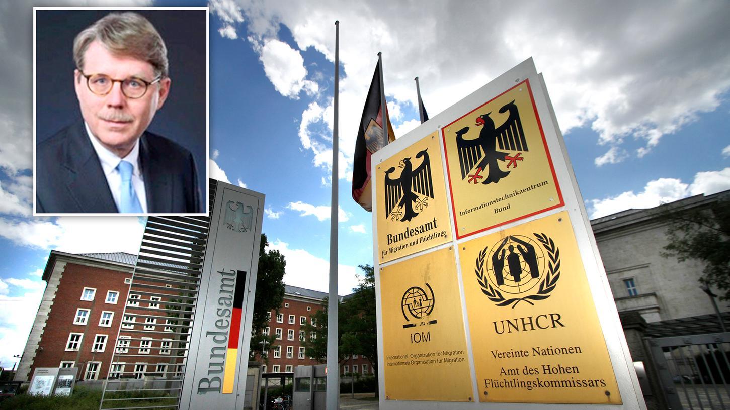 Das Nürnberger Bundesamt für Migration und Flüchtlinge steht seit geraumer Zeit in der Kritik.