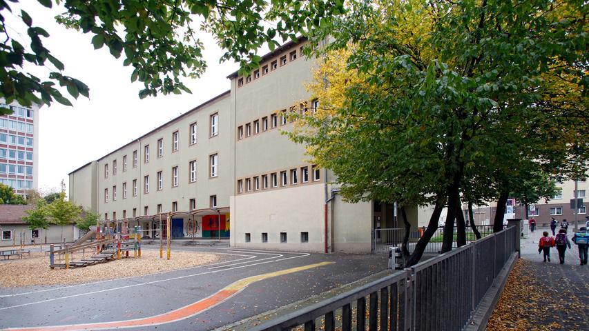 Die Holzgartenschule liegt in Glockenhof im Nürnberger Süden.  Zur Homepage der Holzgartenschule.
