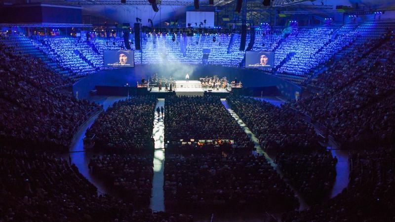 Das überwältigende Erlebnis der Uraufführung des Luther-Pop-Oratoriums teilten