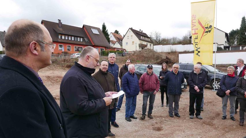 Dekan Matthias Ewelt würdigte das gute Zusammenwirken starker Partner...