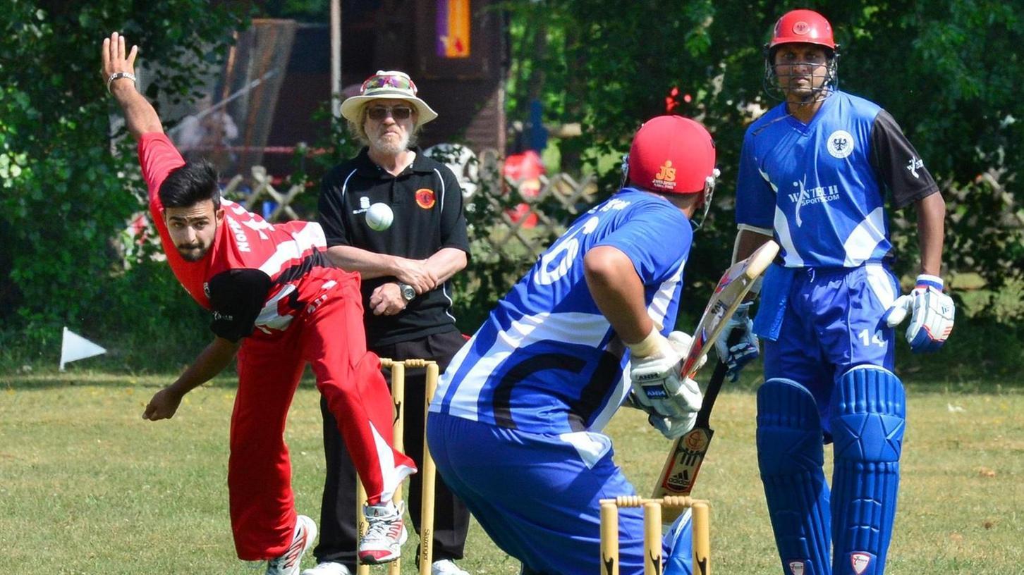 Sehr beliebt: Cricket kennen einige Flüchtlinge noch aus ihrer Heimat. Deshalb wollen sie es hier auch spielen.