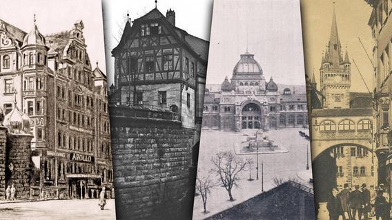 Beeindruckende Bilder: So sehr hat sich Nürnberg verändert