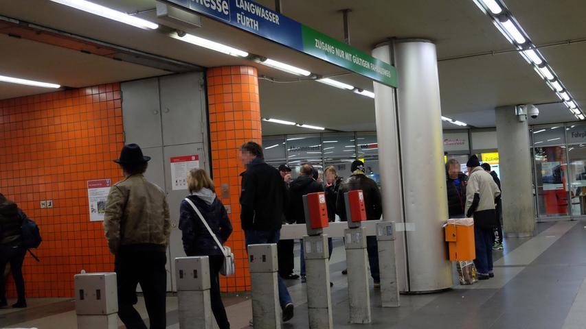 Dennoch kommen vor allem Nürnberger, die die U-Bahn nutzen wollen, nicht um die