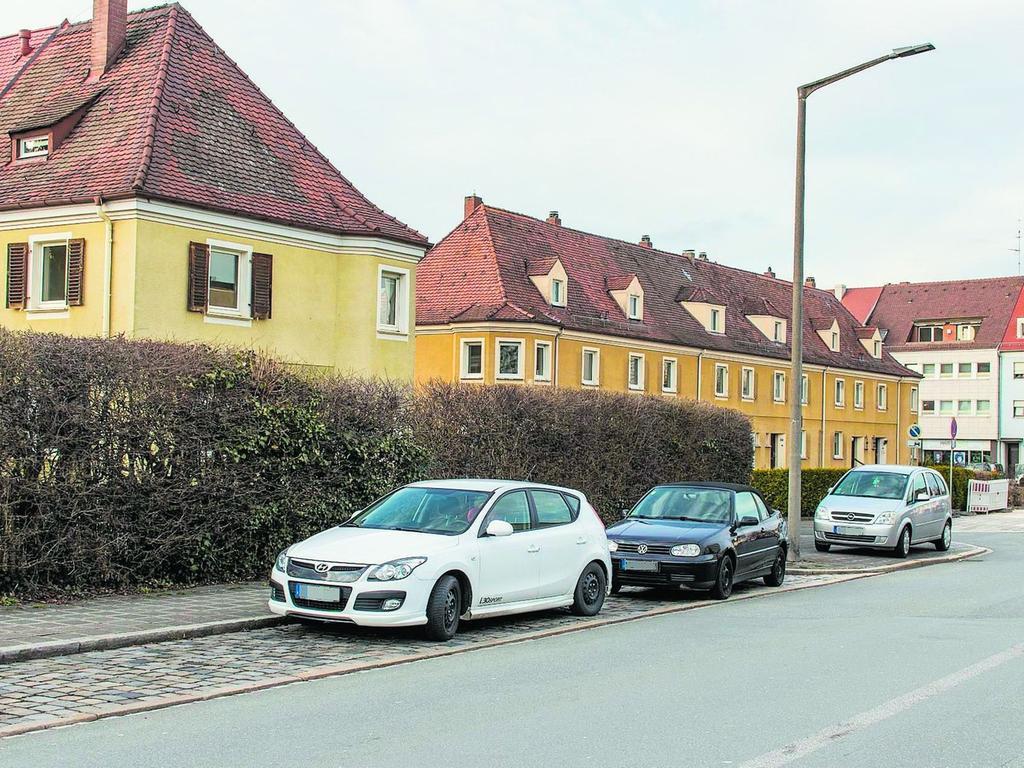 64 Jahre später sind die Häuser an der Waldluststraße verlassen und warten auf den Abbruch.