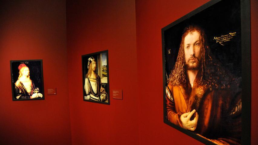 Selbstbildnisse gehören zu den berühmtesten Bildern von Albrecht Dürer. 1493 schuf er das