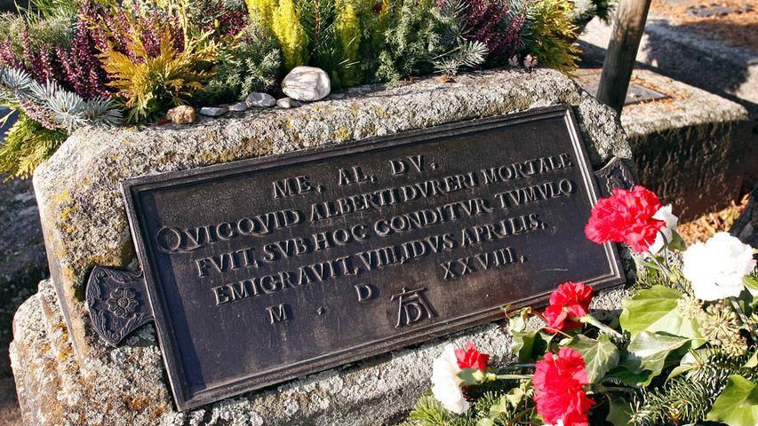 Todestag Dürers ist der 6. April 1528. Woran er genau starb, ist nicht klar. Immer wieder wurde vermutet, es könnte Malaria oder Cholera gewesen sein. Er wurde auf dem Johannisfriedhof im Grab seiner Schwiegereltern Frey bestattet.