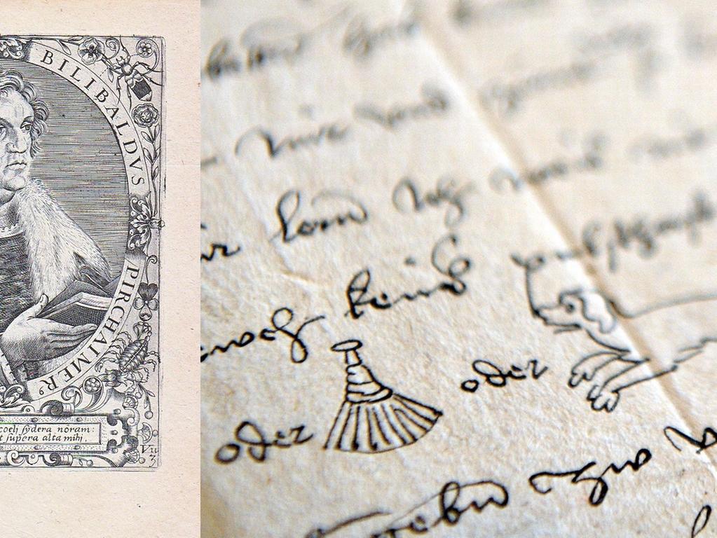 Willibald Pirckheimer (1470-1530) war der beste Freund Albrecht Dürers und eine der schillerndsten Figuren der Nürnberger Geschichte. Er war ein Gelehrter von europäischem Rang, war Übersetzer antiker Texte und selbst Autor humanistischer Schriften. Gleichzeitig war er ein handfester Politiker und Militärführer. Und er galt als Lebemann und Frauenheld. Die beiden führten auch einen regen Briefwechsel.