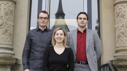 Die drei neuen Richter am Amtsgericht Forchheim (v. li.): Christian Schneider, Silke Stark und Christian Schorr