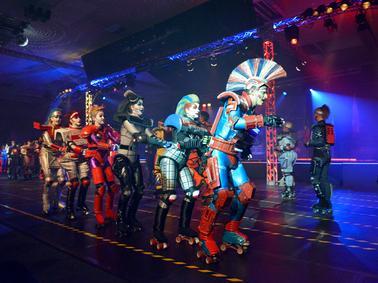 Motiv: Hero City Rollers - Neue Vorstellungen.. Stück Starlight - The Next Generation -  Foto: privat, 2015