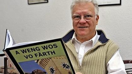 Humorvoller Fürth-Kenner: Friedrich Ach mit neuem Foto-Lyrikband.
