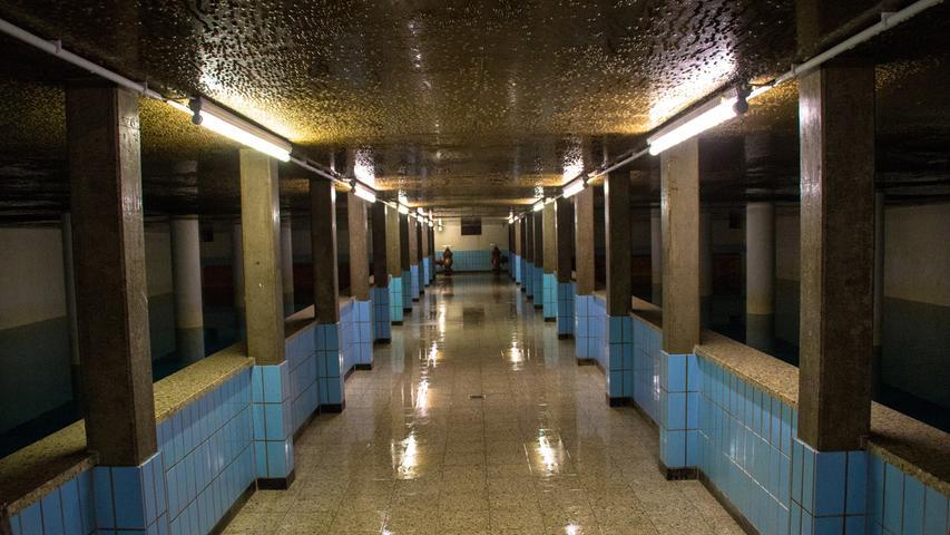 Heilige Wasserhallen: So sieht's im Treuchtlinger Hochbehälter aus