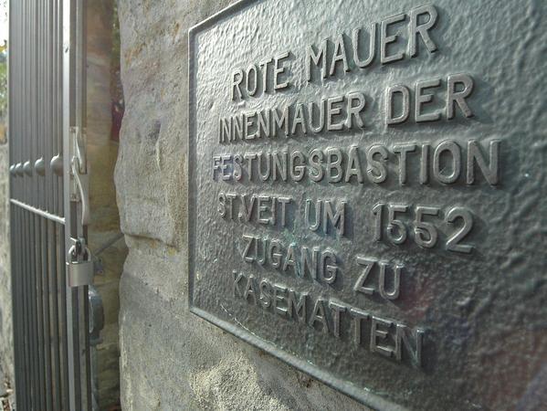 Forchheim In der Unterwelt.Museum in der Roten Mauer.