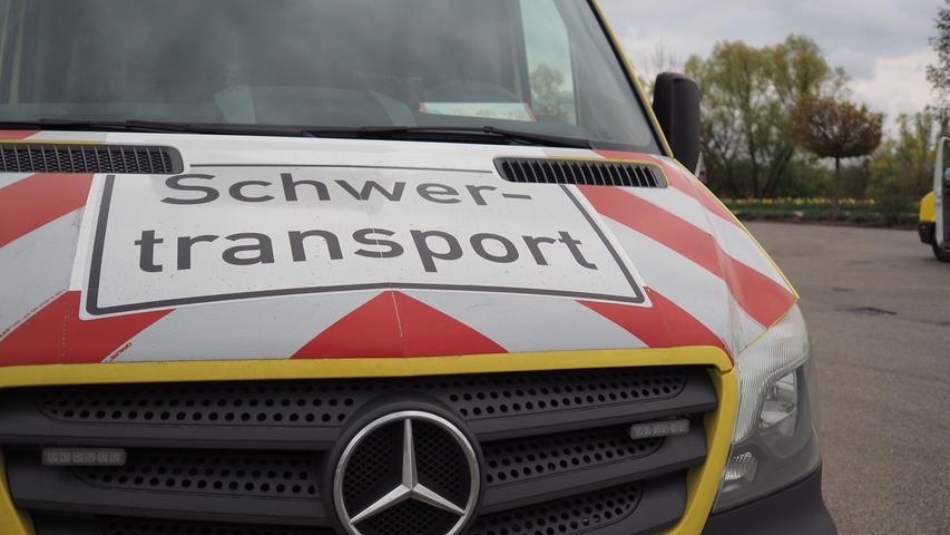Gunzenhausen: Ein Schwertransport geht auf Reisen