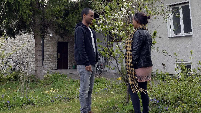 Die äthiopischen Flüchtlinge Sara und Dawit fanden Unterschlupf im Gemeindehaus St. Matthäus in Erlangen.