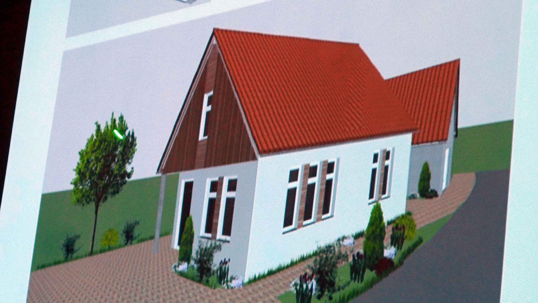 An diesem Dorfgemeinschaftshaus wollen die Diebacher selbst mit Hand anlegen, die sich auch in die Planung einbrachten.