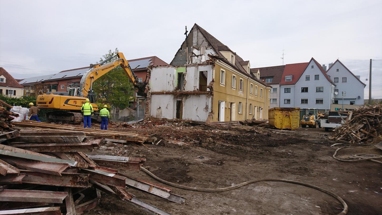 Ein Anblick, der viele Menschen in Zabo traurig macht: Diese Reihenhauszeile der Heimgartensiedlung muss einem Neubau weichen. Bei einer Befragung des Vorstadtvereins haben zwei Drittel der Teilnehmer den Abriss kritisiert.