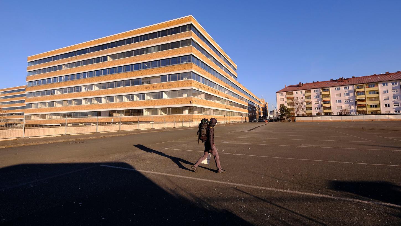 Auf den Parkplätzen des ehemaligen Quelle-Areals soll ein großer Park entstehen.