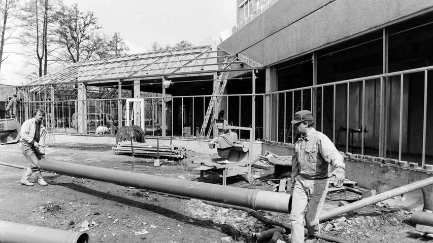 Das PEP war einst die grüßte Baustelle in Pegnitz.