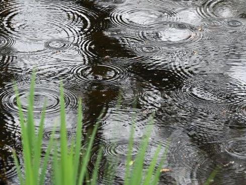 Wetter Regen See