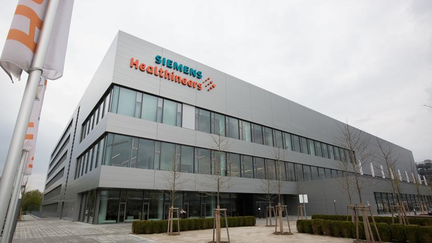 Die schöne neue Siemens-Welt in Forchheim