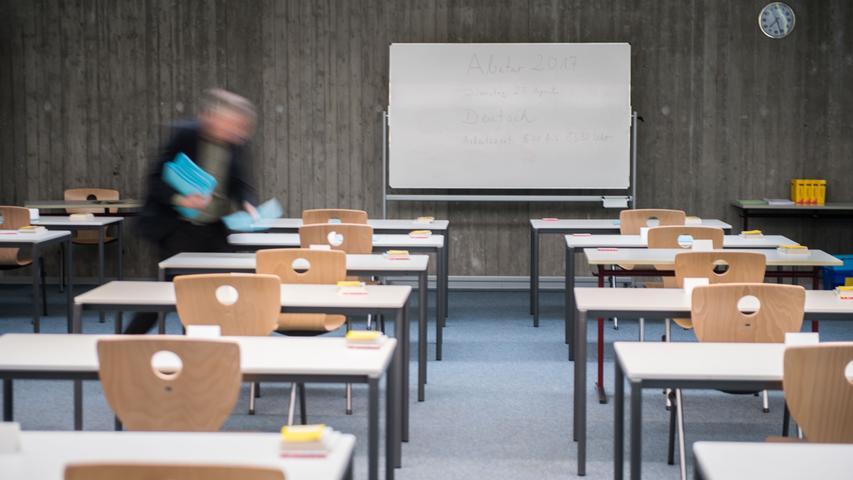 Tresor geknackt: Pannen beim Abitur in Bayern