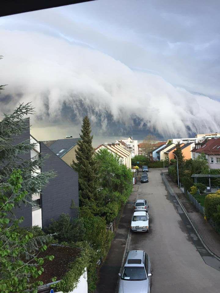 Wolke in Feucht