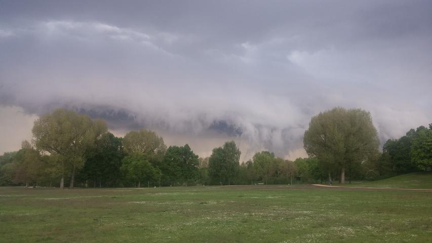 Wolke im Marienbergpark