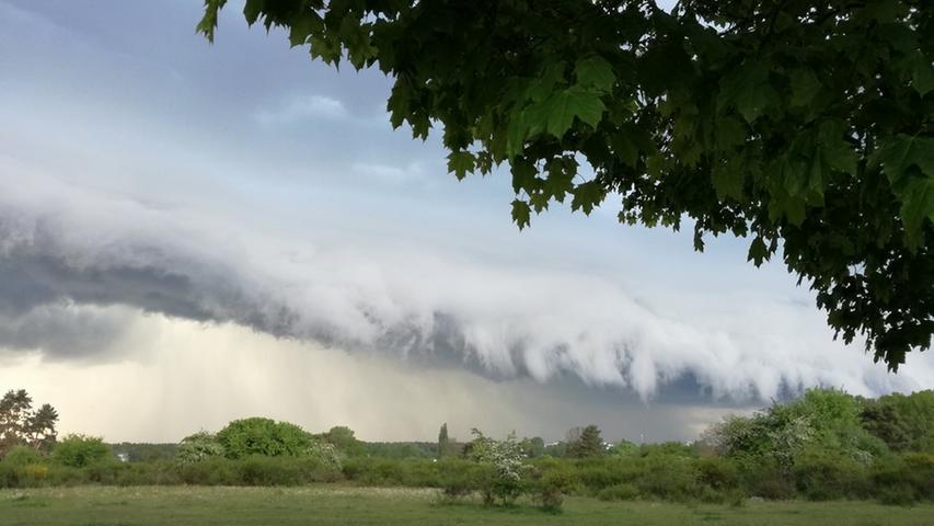 Wolke über Franken