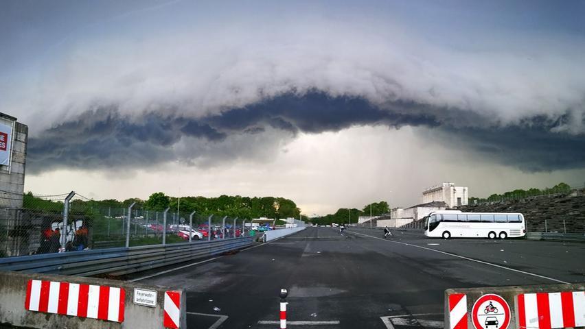 Wolke über Zeppelinfeld