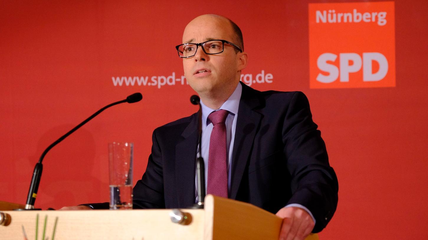 Nürnbergs SPD-Chef Thorsten Brehm ist konsterniert.