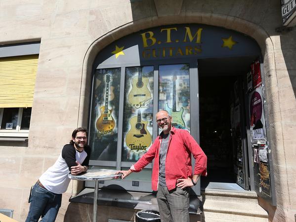 SamSon-Magazin: BTM-Guitars-Laden, Fürther Straße 236 in Nürnberg..Foto: (c) RALF RÖDEL / NN (16.05.2017)