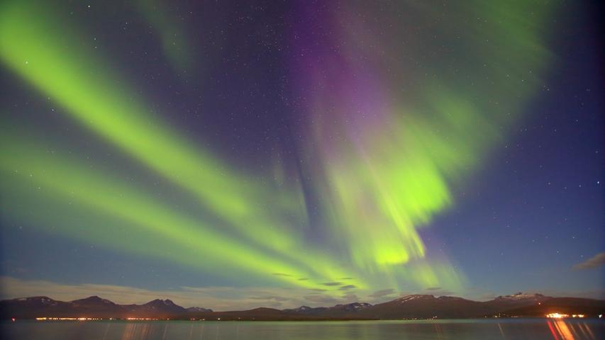 Am geringsten ist die Lichtverschmutzung in Westeuropa noch in Schottland, Schweden und Norwegen (Foto) sowie in einzelnen Regionen in Österreich und Spanien.