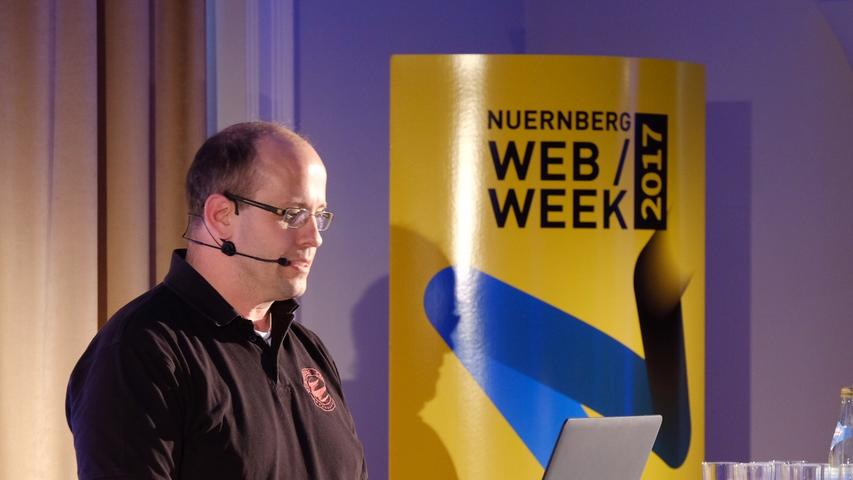 Web-Experte Ernst Schulten setzte seinen Fokus auf den Aspekt