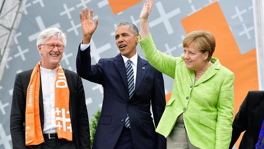 Segen, Giesinger und Obama: Der Kirchentag in Berlin