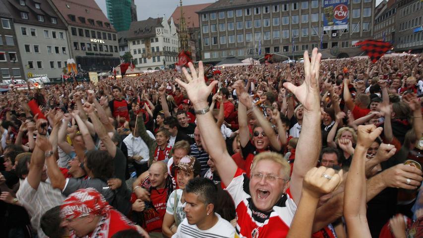 Nürnberg geriet wie in einen Rausch.