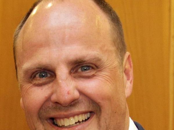 Bürgermeister Christian Vogel.