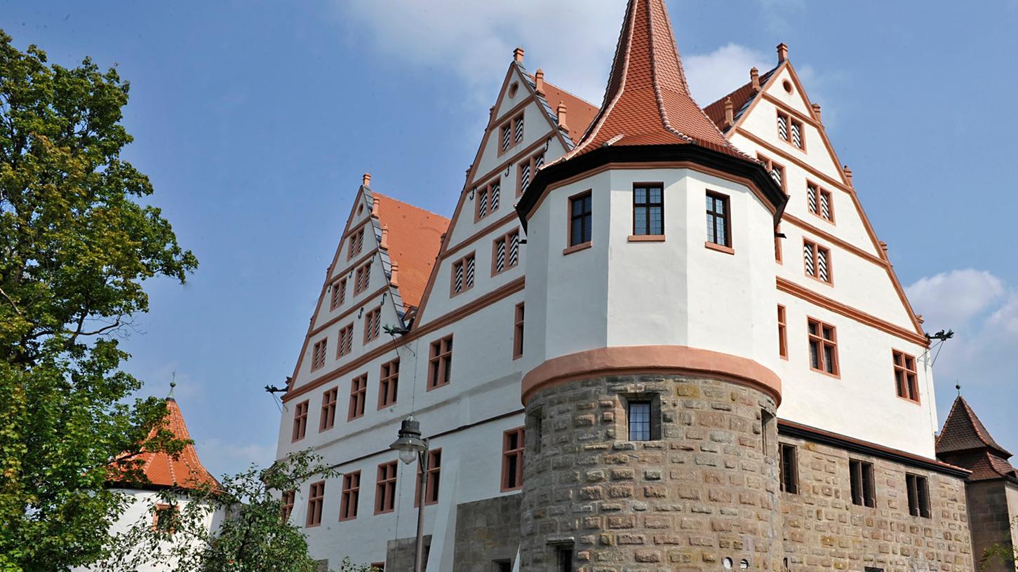 Gehört zu den Wahrzeichen von Stadt und Landkreis Roth: Das im 16. Jahrhundert erbaute Schloss Ratibor.