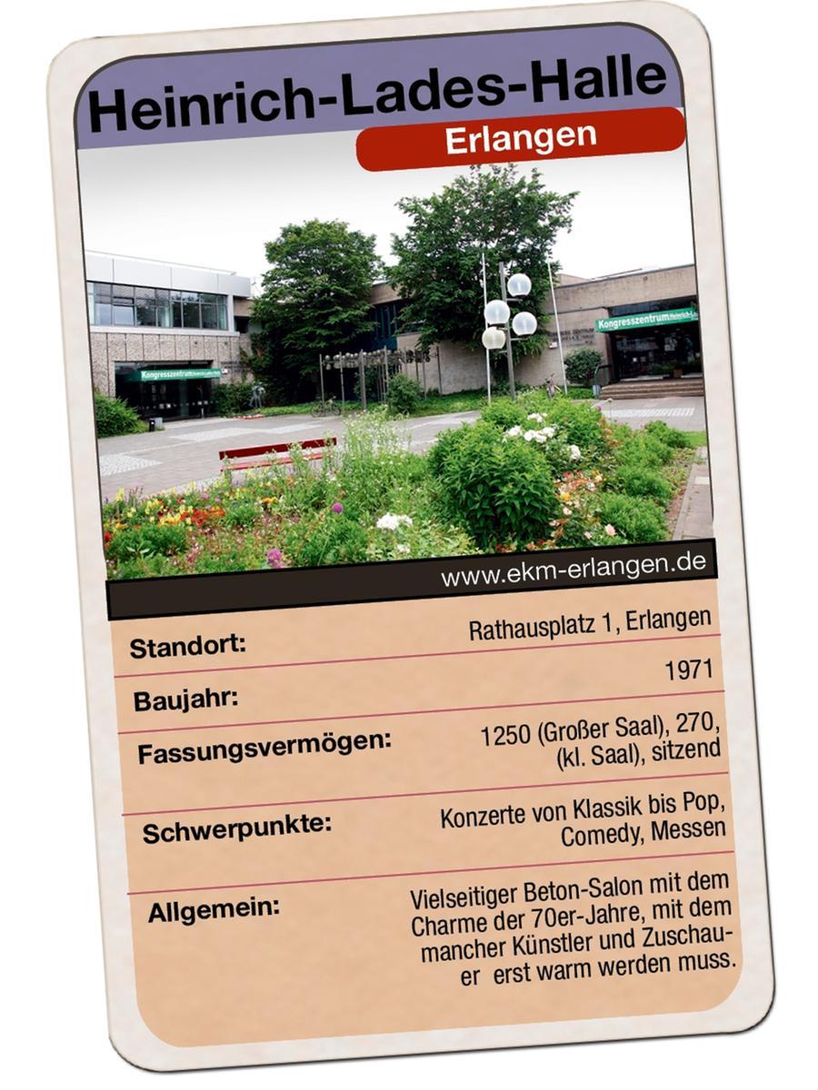 Heinrich-Lades-Halle (stadthalle) Erlangen