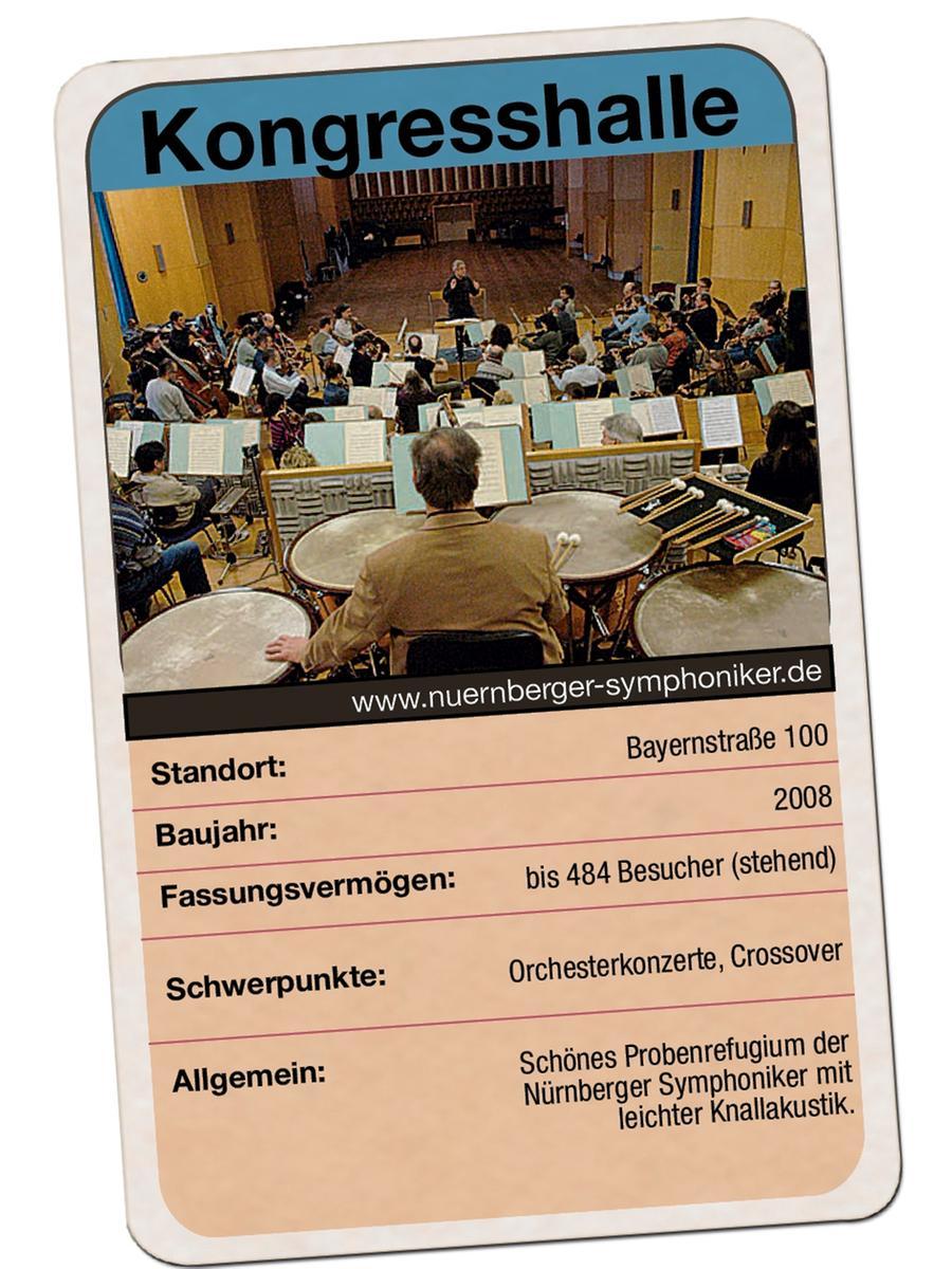 Musiksaal der Nürnberger Symphoniker in der Kongresshalle
