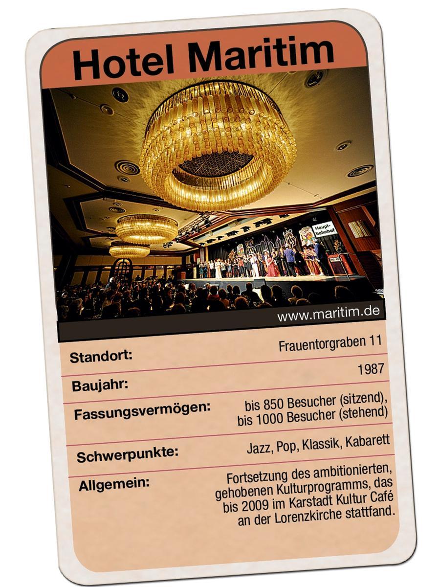Festsaal im Hotel Maritim in Nürnberg