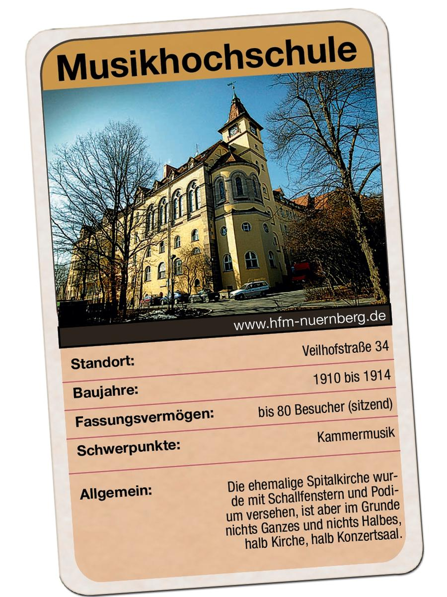 Kammermusiksaal der Musikhochschule Nürnberg im ehemaligen Sebastianspital