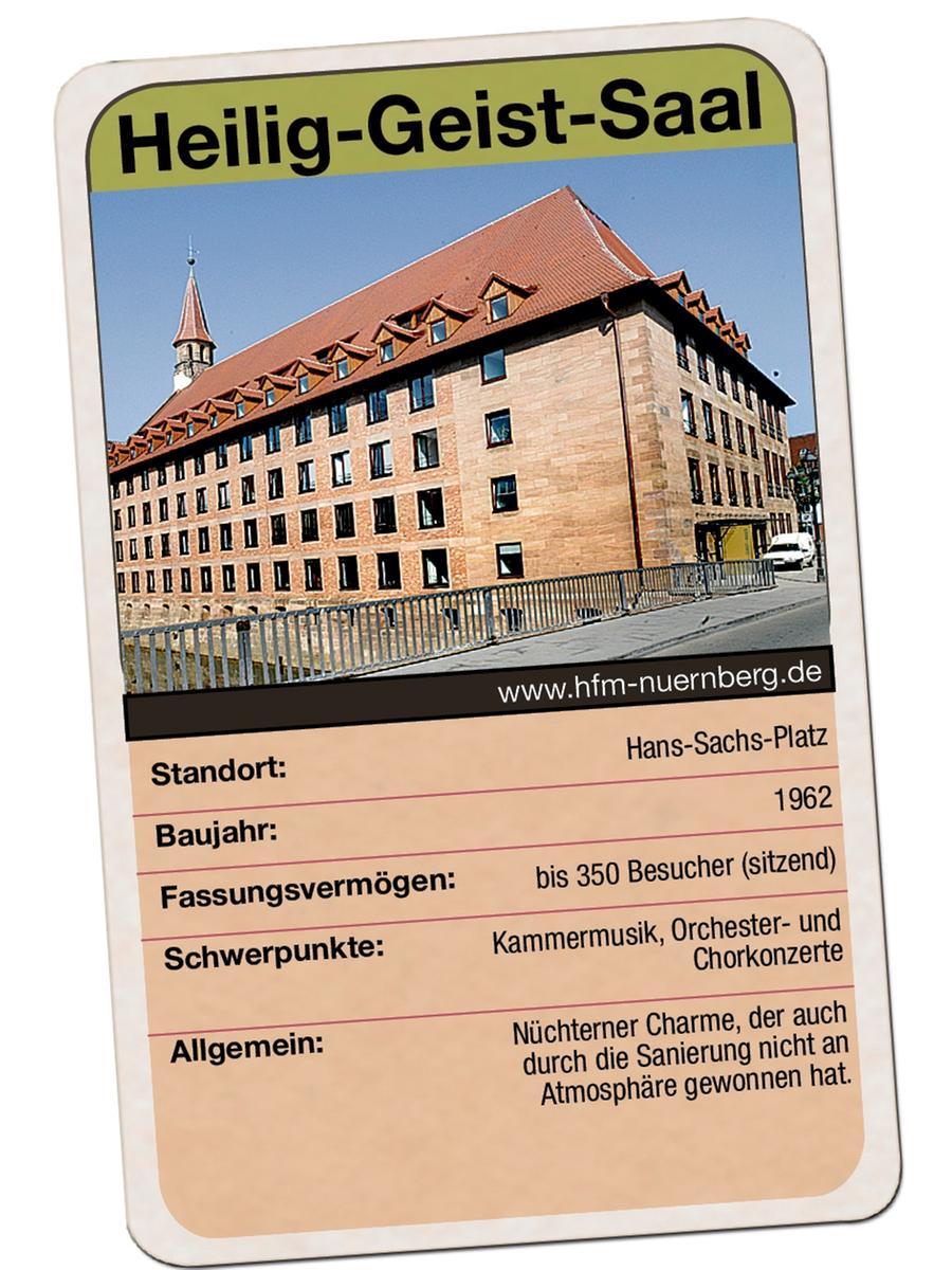 Heilig-Geist-Saal in Nürnberg