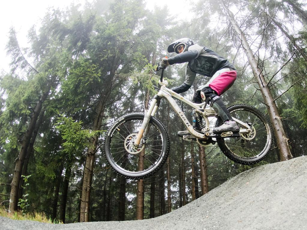In den vergangenen Jahrzehnten wurde das Stahlross immer mehr für die unterschiedlichen Einsatzzwecke ausgerichtet. Vollgefederte Downhill-Mountainbikes zum Beispiel erinnern eher an Cross-Motorräder als an ein Fahrrad.