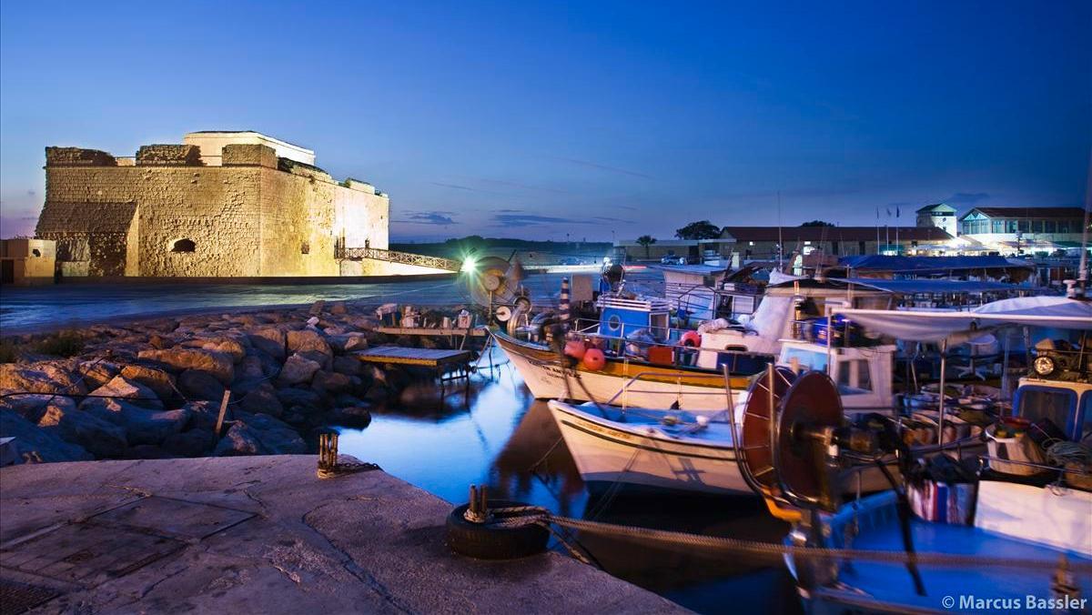 Paphos auf Zypern.