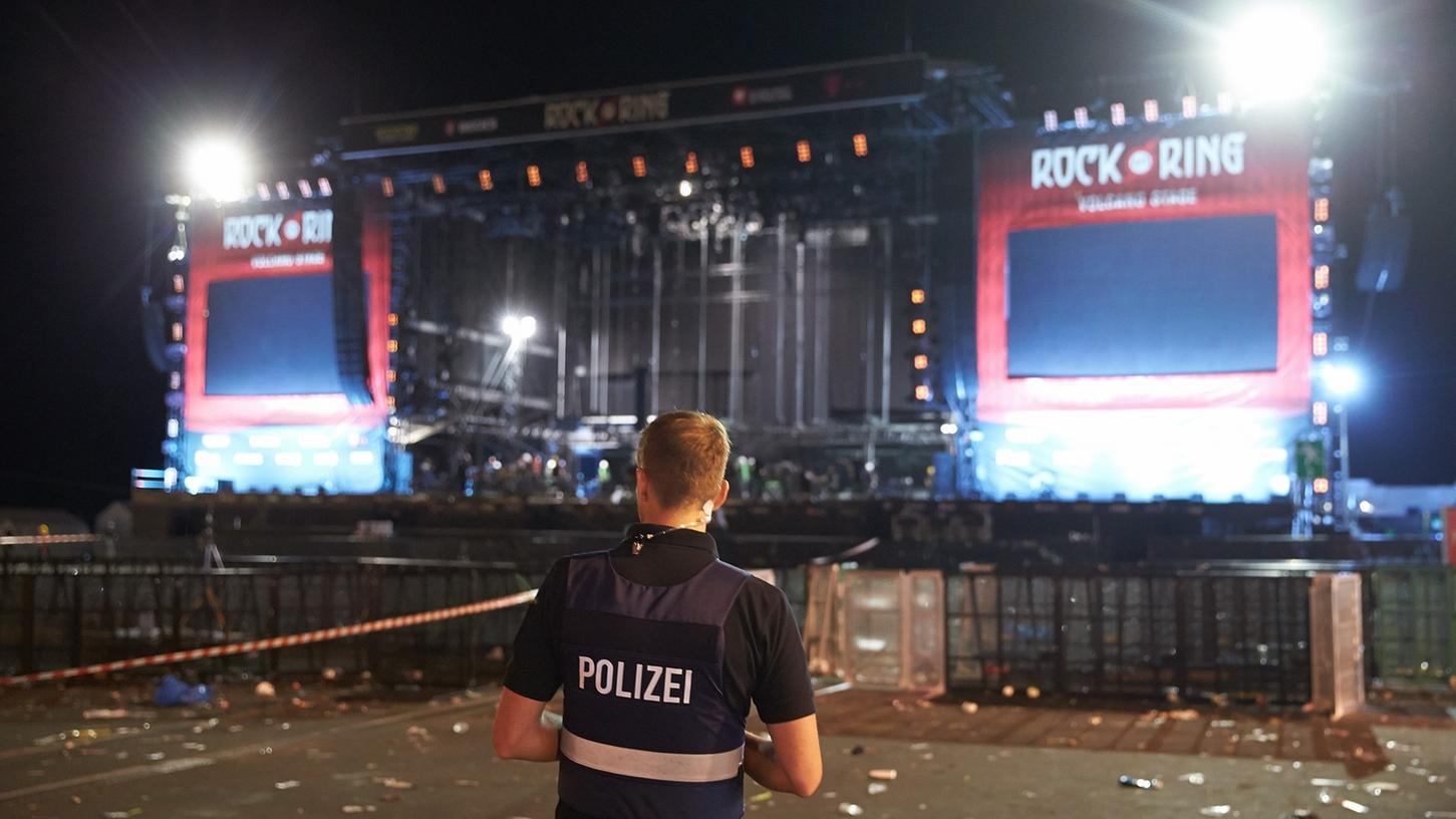 Wegen Terrorgefahr war das Musikfestival Rock am Ring unterbrochen worden.