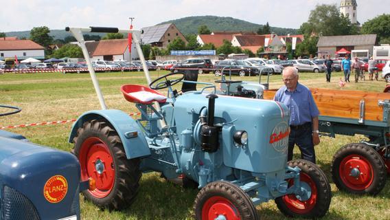 Oldtimerschau beim Schützengau in Meinheim