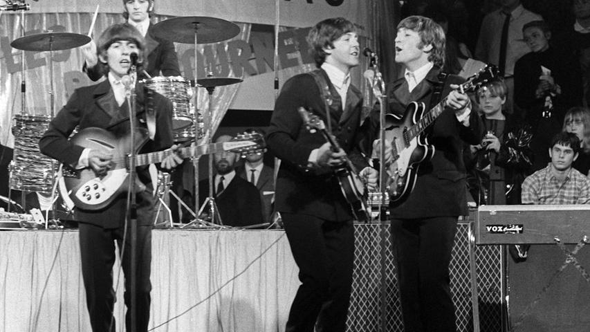 In den 60ern waren sie die ganz Großen: Die Beatles.